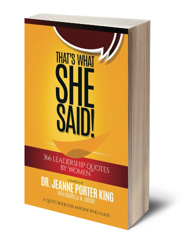 Book by Dr. Jeanne Porter King
