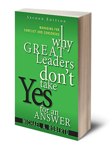 Book by Dr. Michael Roberto